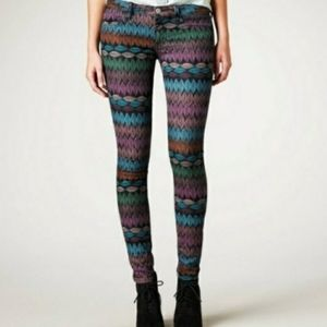 American Eagle Size 4 Feather Jeggings